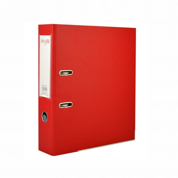 Класьор Colori 8 см червен