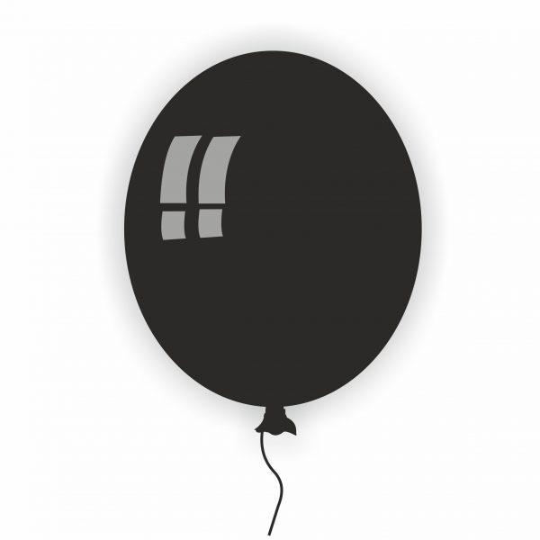 Балон Rocca черен