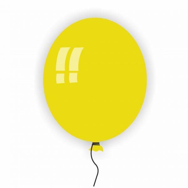 Балон Rocca жълт 11