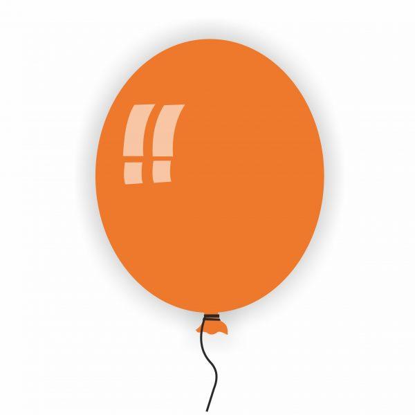 Балон Rocca оранжев 14