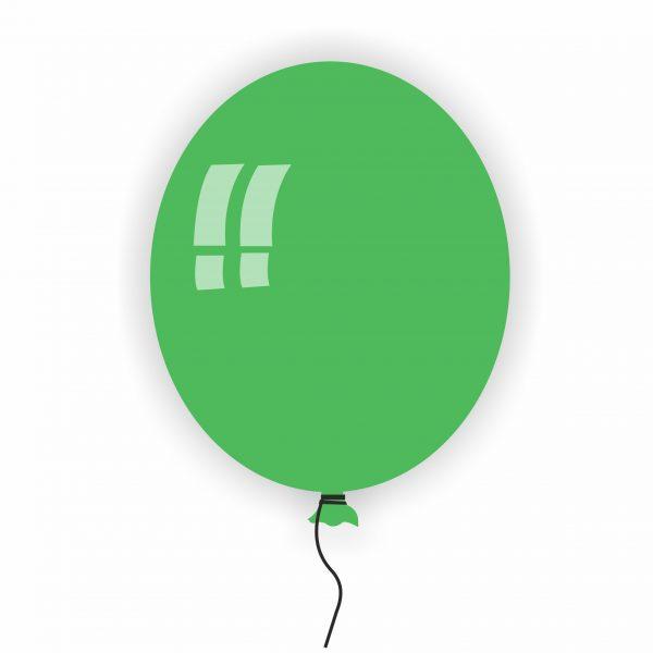 Балон Rocca зелен 22