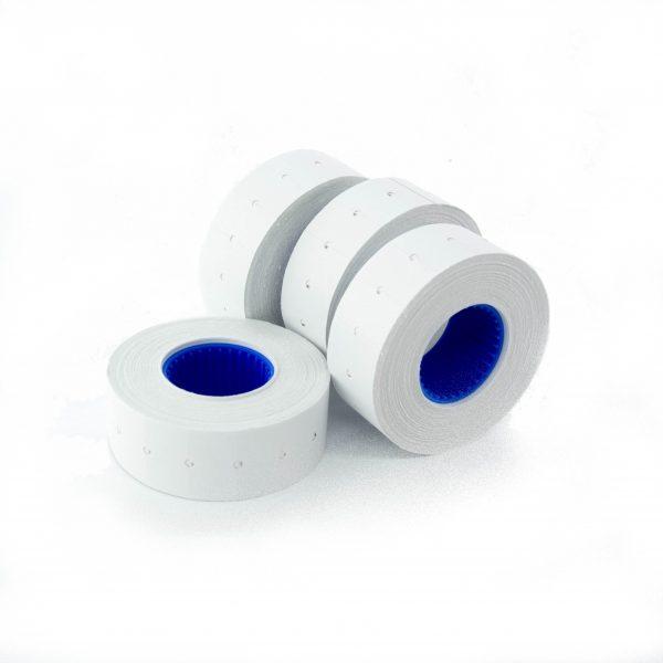 Ценови етикети на ролка 21/12 мм бели