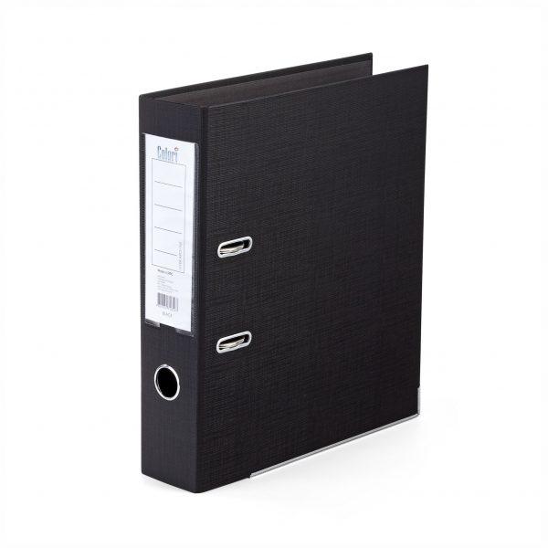 Класьор Colori 8 см черен