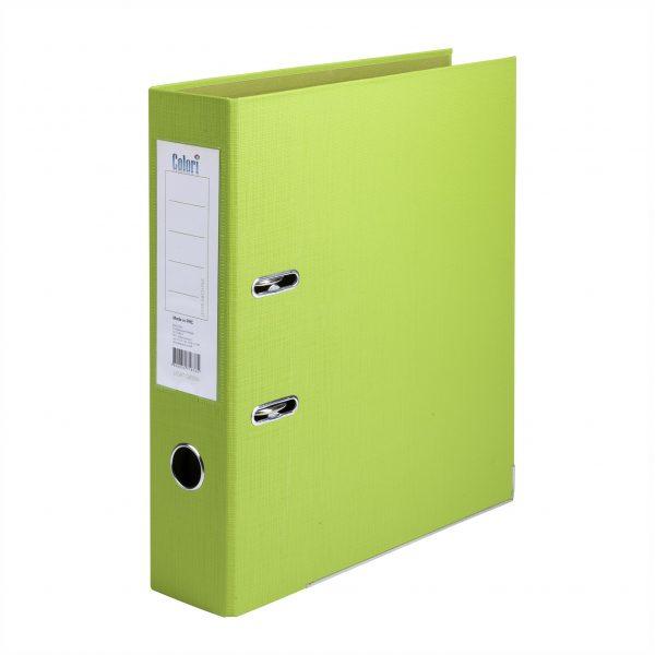 Класьор Colori 8 см светлозелен