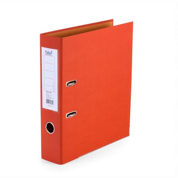 Класьор Colori 8 см оранжев