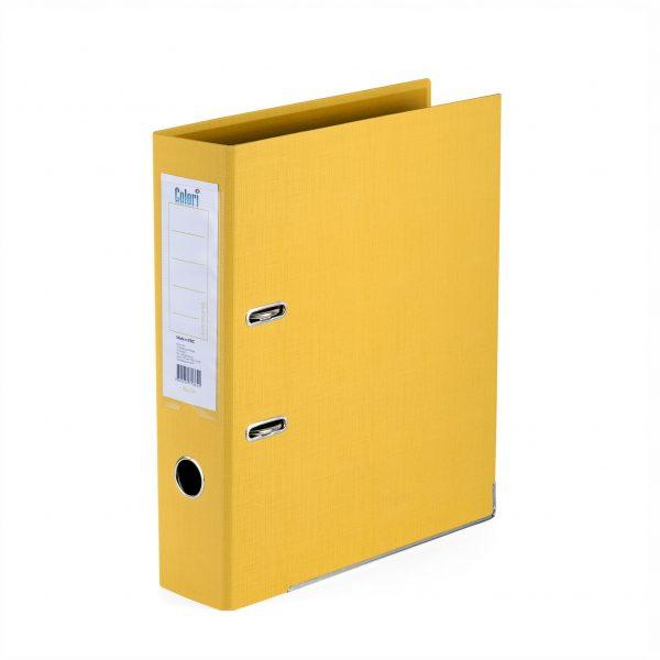 Класьор Colori 8 см жълт