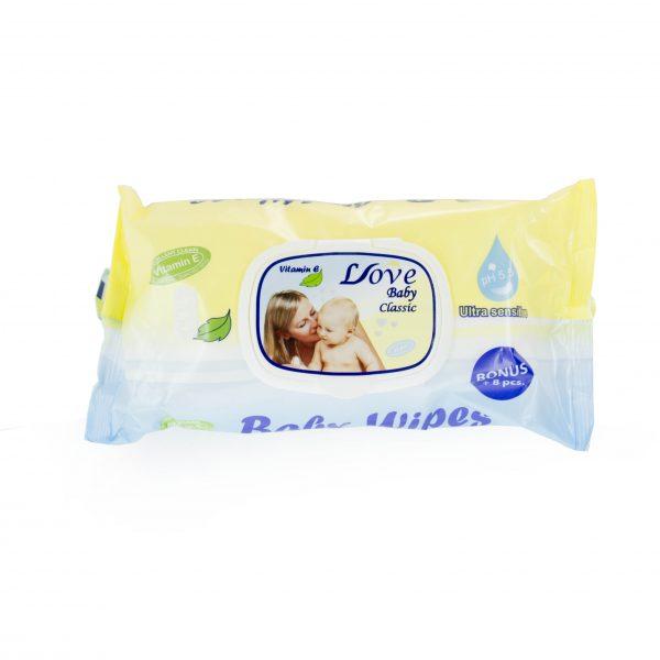 Мокри кърпи Love Baby