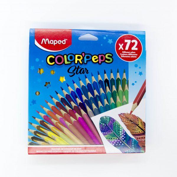 Моливи Maped 72 цвята