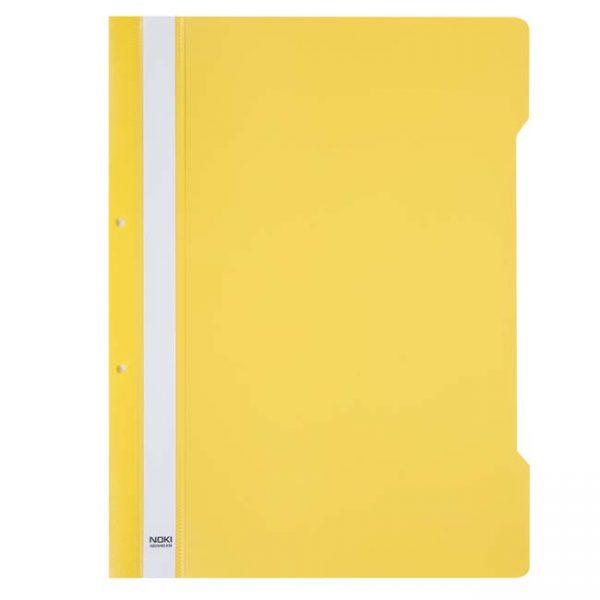 Папка PVC Noki жълта