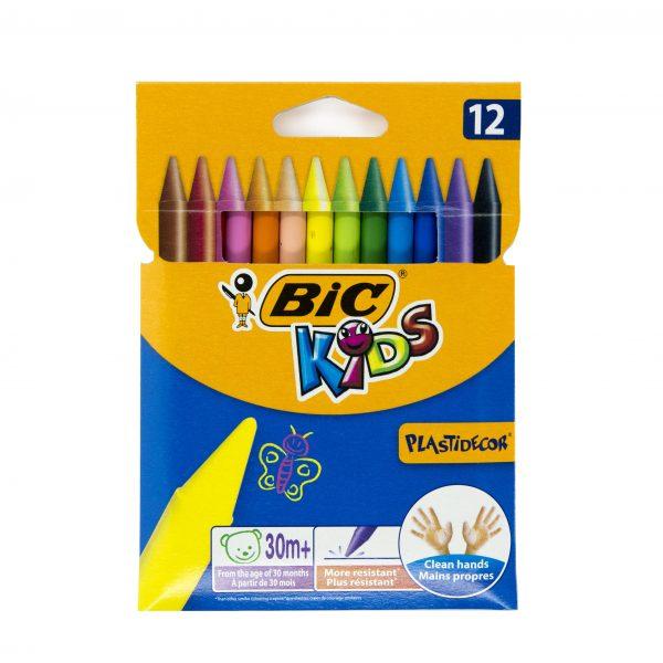 Пастели BIC 12 цвята