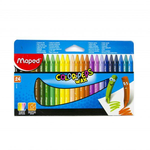 Пастели Maped 24 цвята