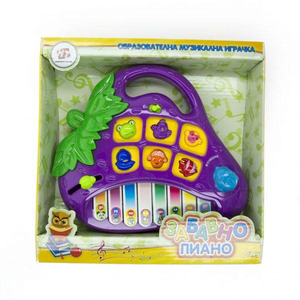 Забавно пиано лила
