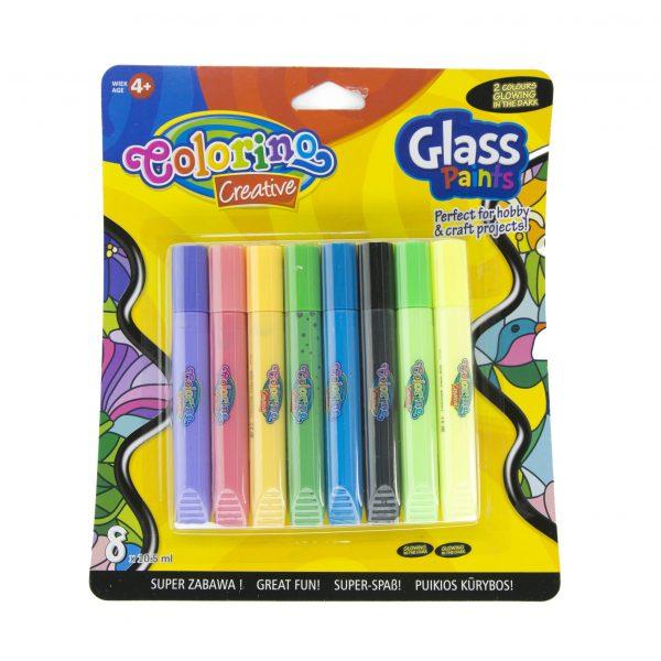 Бои за стъкло Colorino 8 цвята