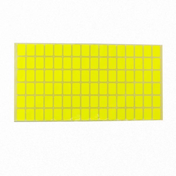 Ценови етикети 18/12 мм жълти