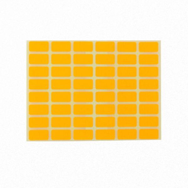 Ценови етикети 23/12 мм оранжеви