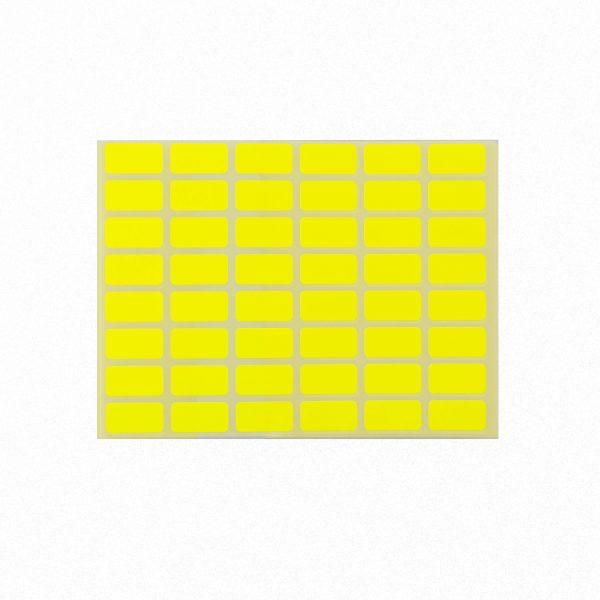 Ценови етикети 23/12 мм жълти