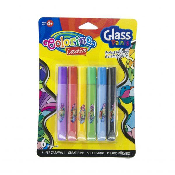 Бои за стъкло Colorino 6 цвята