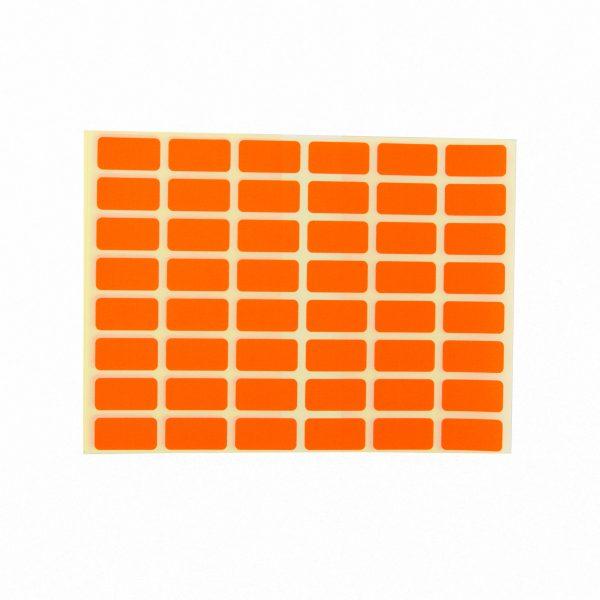 Ценови етикети 23/12 мм червени
