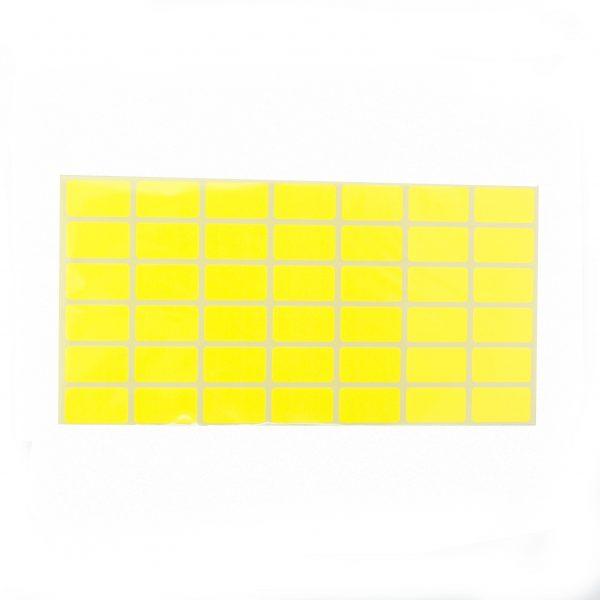 Ценови етикети 30/17 мм жълти
