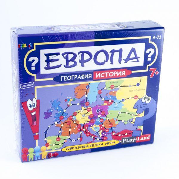 Игра Европа география и история