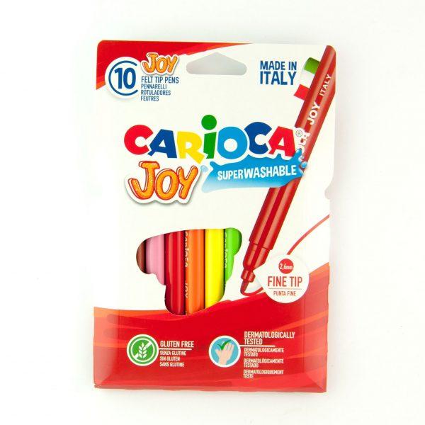 Флумастри 10 цвята Carioca
