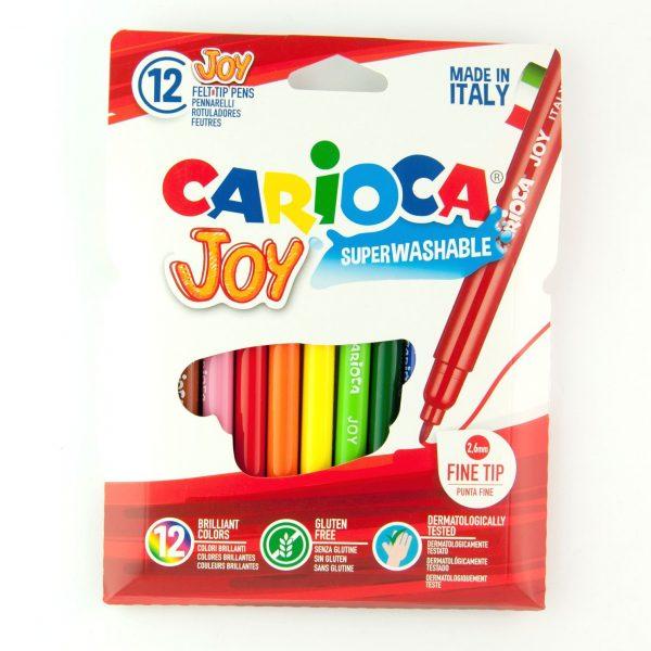 Флумастри 12 цвята Carioca