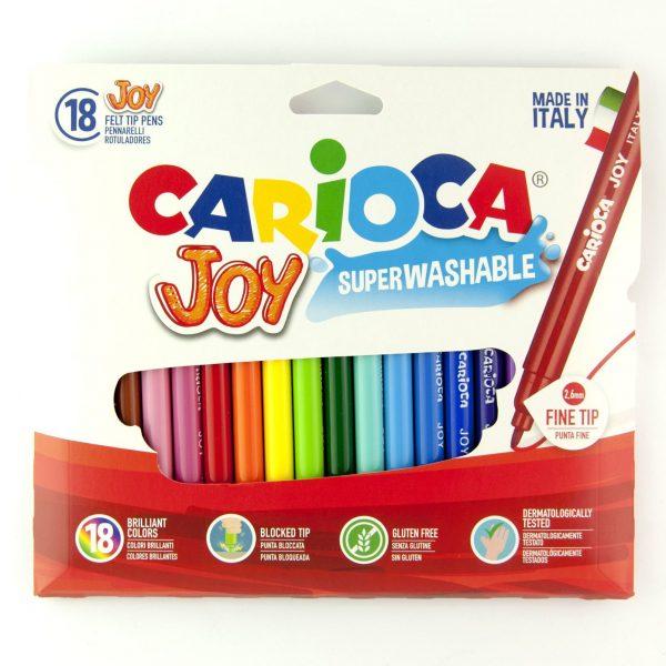 Флумастри 18 цвята Carioca