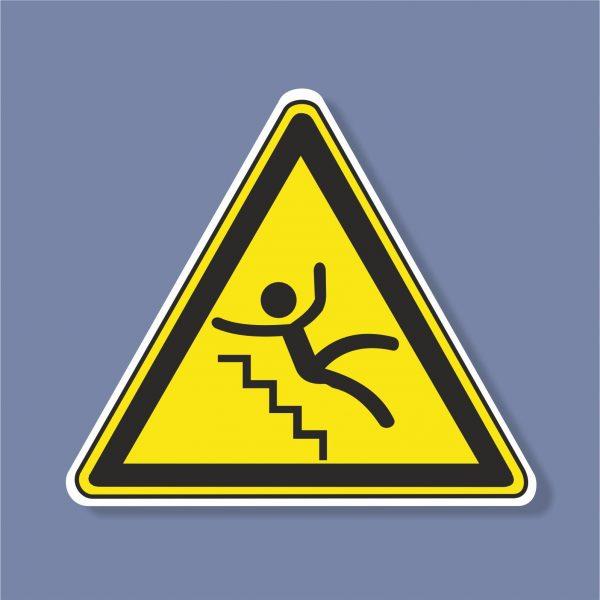 Знак Хлъзгави стълби - 227