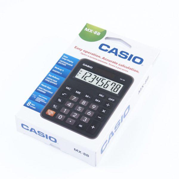 Калкулатор Casio MX/MS-8B