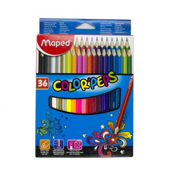 Цветни моливи 36 цвята Maped