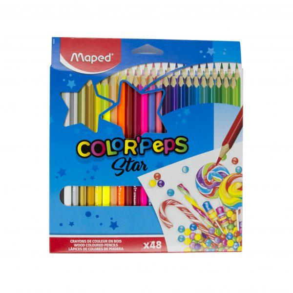 Цветни моливи 48 цвята Maped