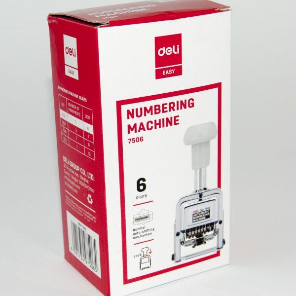 Номератор автоматичен 6 цифри