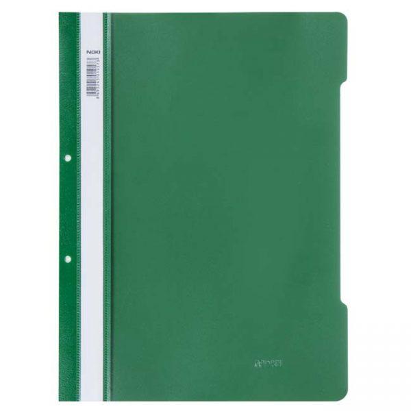 Папка PVC Noki зелена