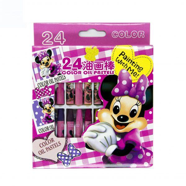 Пастели Mouse 24 цвята