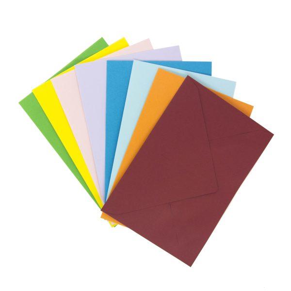 Цветен пощенски плик