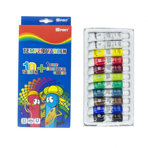 Темперни бои 10+1 цвята Spirit
