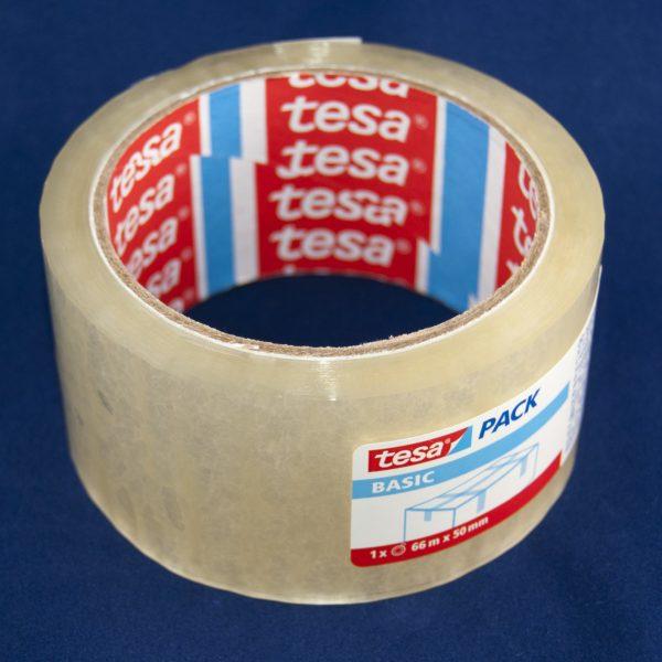 Тиксо 50 мм/66 м прозрачно Tesa