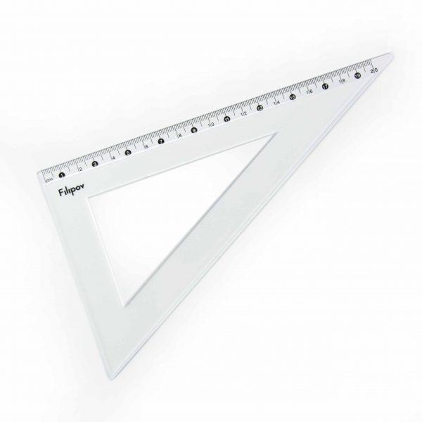 Триъгълник разностранен 60 градуса 20 см