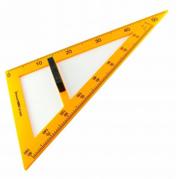 Триъгълник за бяла дъска разностранен