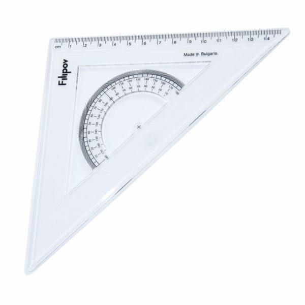 Триъгълник разностранен 45 градуса