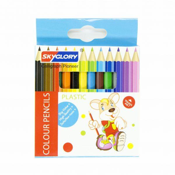 Цветни моливи 12 цв. SkyGlory