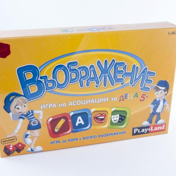 Игра Въображение игра на асоциации за деца