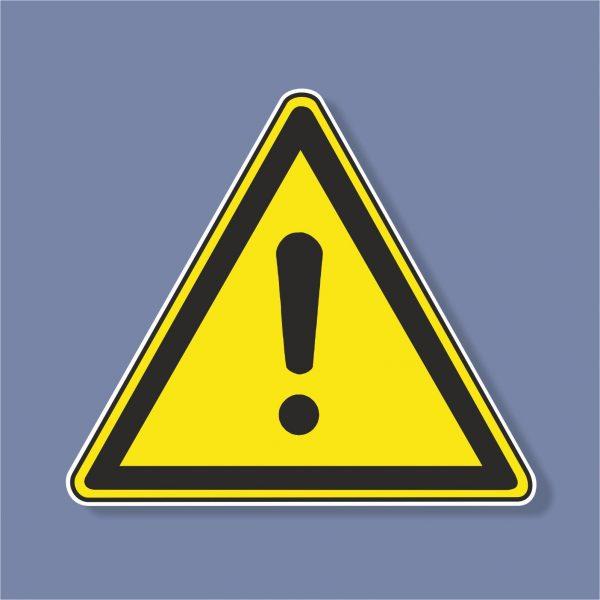 Знак Внимание опасност - 221