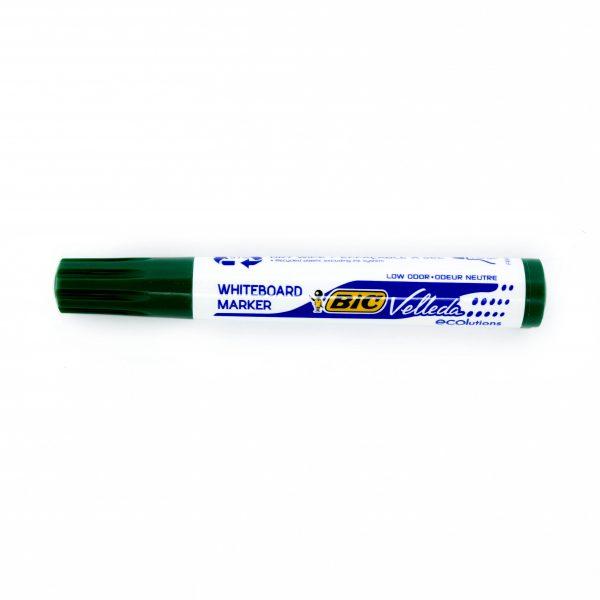 Маркер за бяла дъска Bic зелен