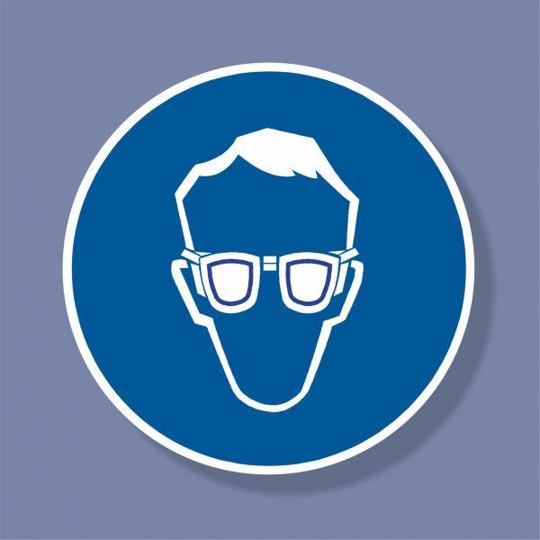 Знак Задължително ползване на защитни очила - 259